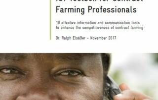 ICT Toolbox for Contract Farming Professionals