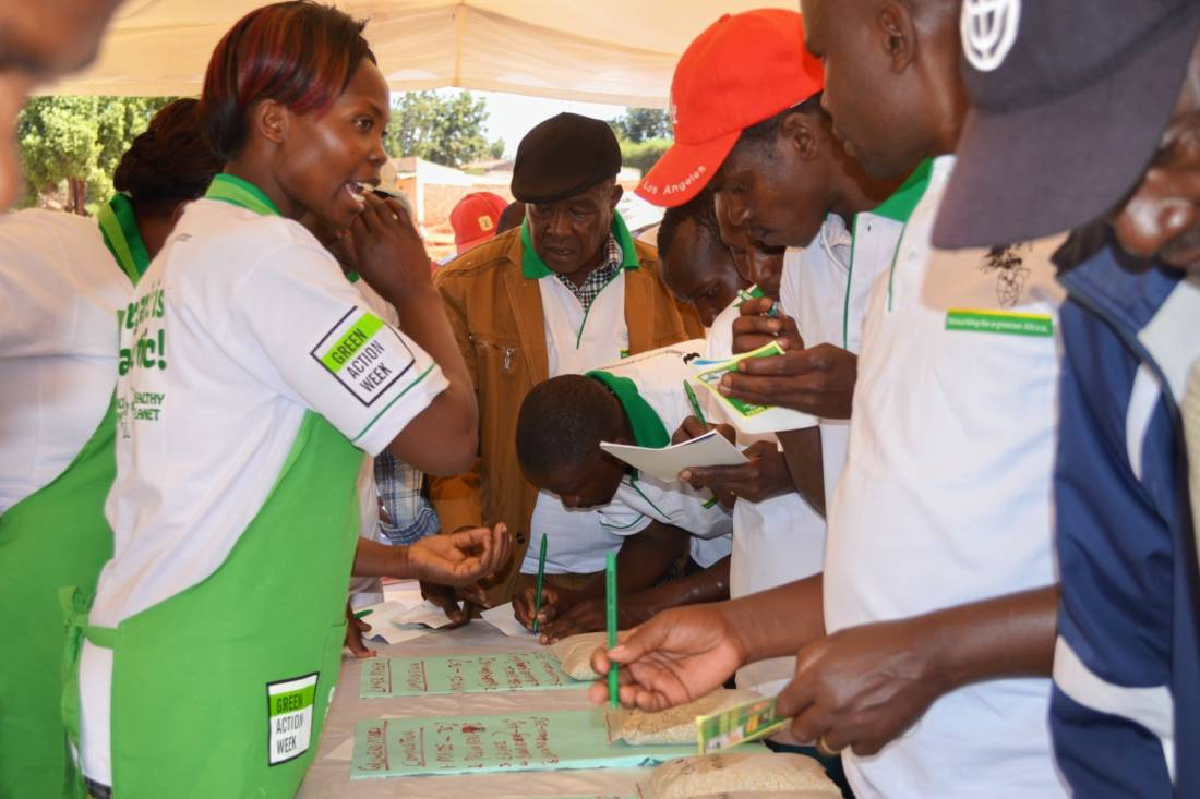 Food Fair Exhibition During 2016 WFD Celebrations in Machakos © Photo Credit: PELUM Kenya