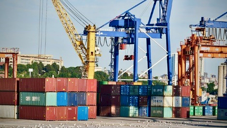 Freight port