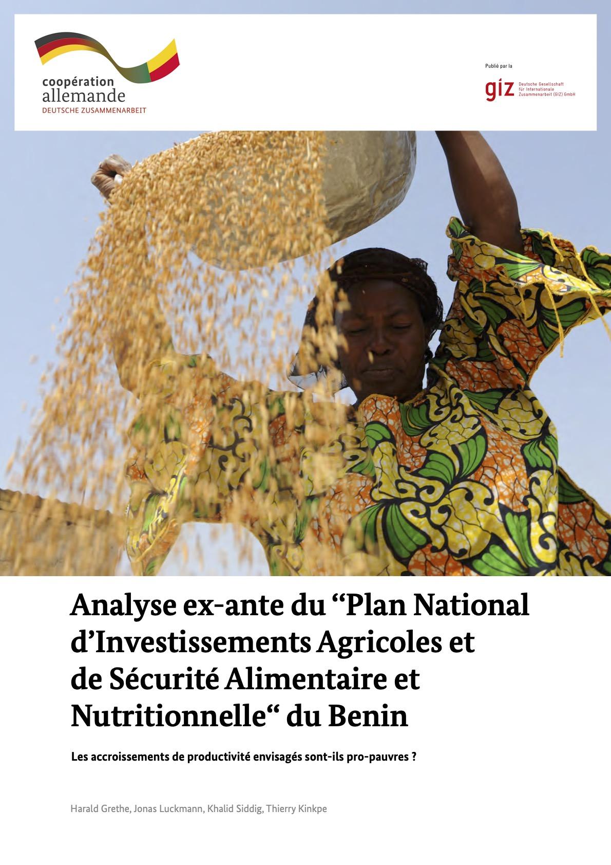 Analyse ex-ante NIP Benin